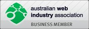 Australian Web Industry Association Member.
